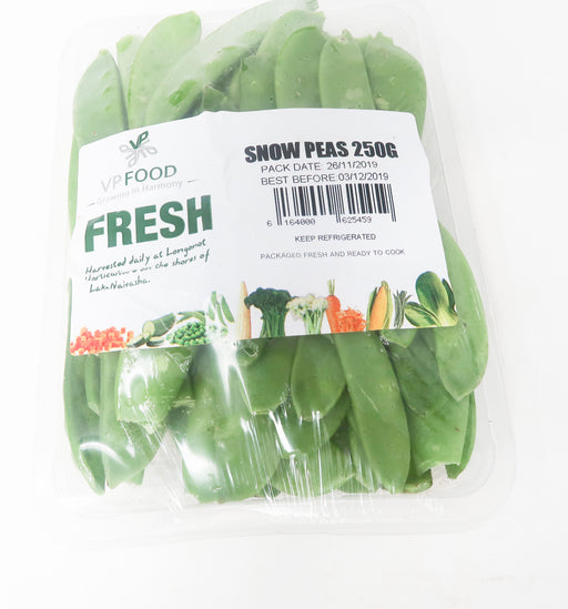 Vp Food - Snow Peas - Zucchini Greengrocers LTD