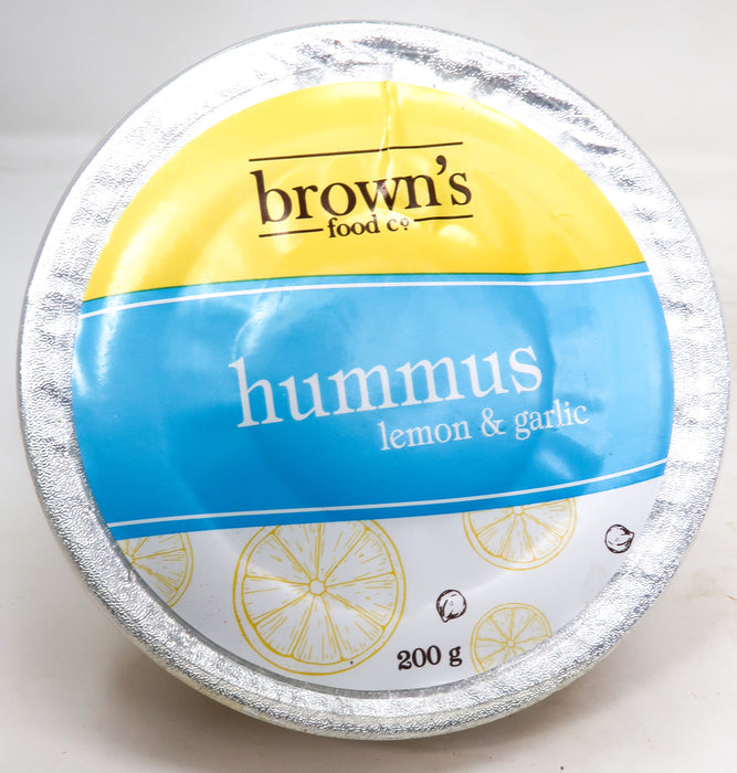 Brown's Hummus - Lemon & Garlic
