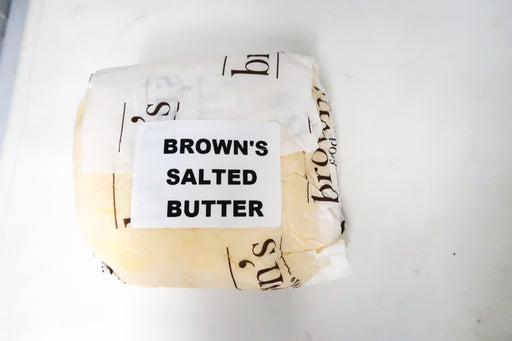 Brown's Salted Butter - Zucchini Greengrocers LTD