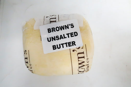 Brown's unsalted Butter