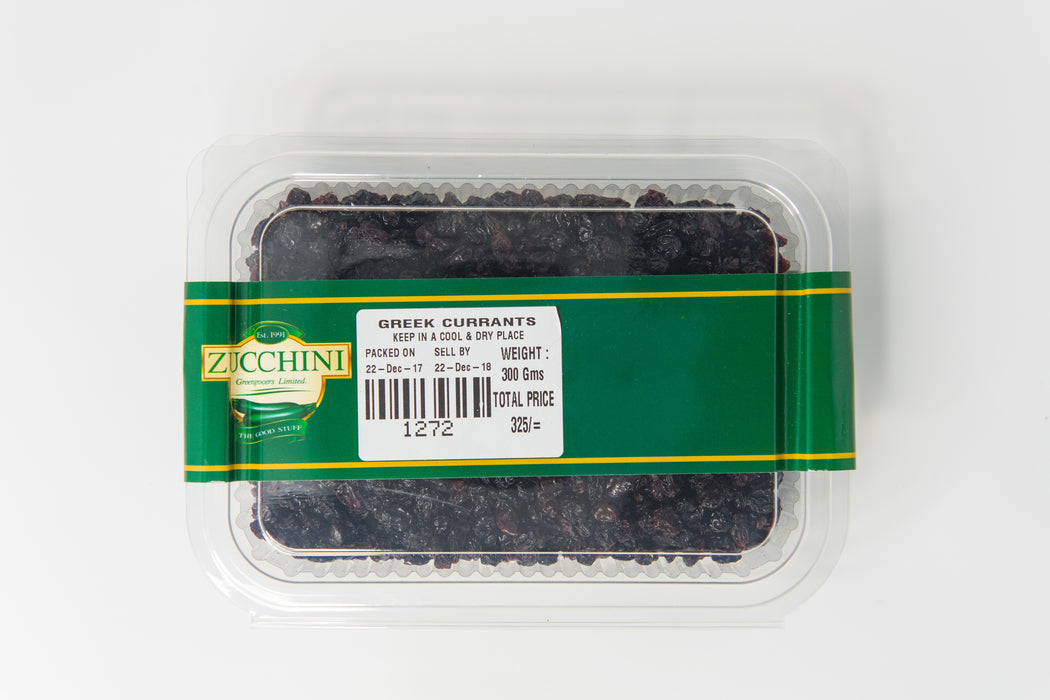 Greek Currants - Zucchini Greengrocers LTD