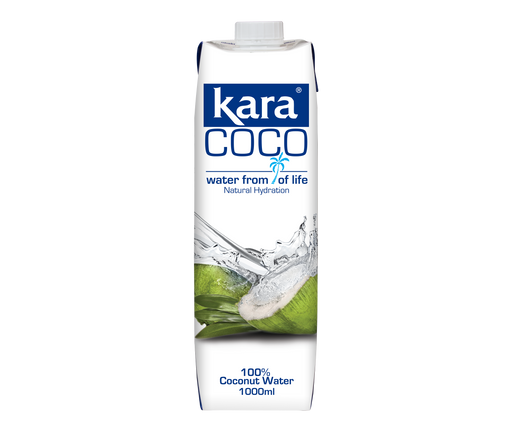 Kara Coco 100% Coconut Water 1000ml