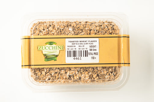 Toasted Wheat Flakes - Zucchini Greengrocers LTD