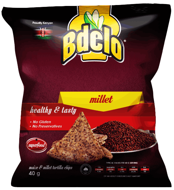 Bdelo-Maize & Millet chips