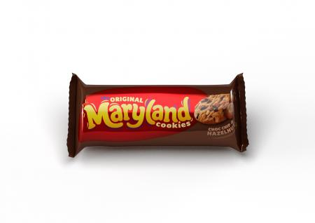 The Original Maryland Cookies Choc Chip &Hazelnut Cookies 136g.