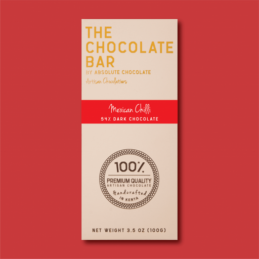 Absolute Mexican Chilli – 54% Dark Chocolate 100g