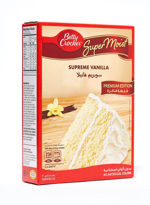 Betty Crocker Supreme Vanilla Cake 500g