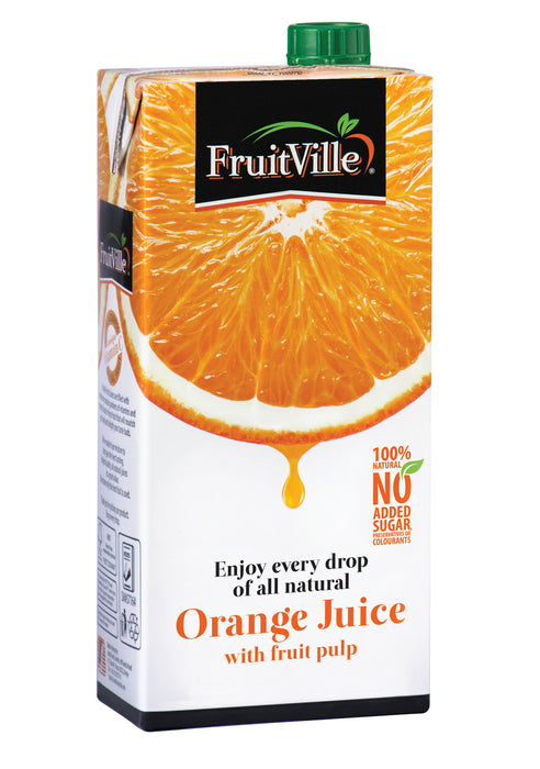 FruitVille Orange Juice 1 Ltr