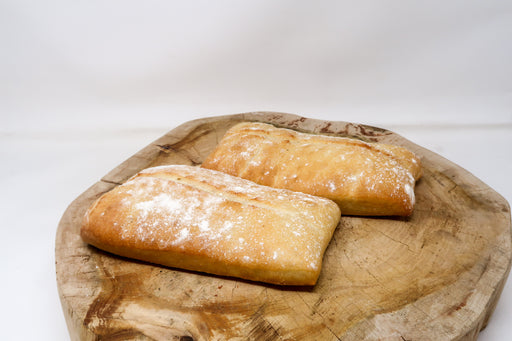 Plain Ciabatta - Zucchini Greengrocers LTD