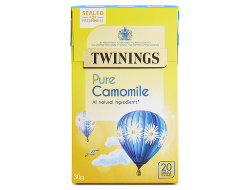 Twinings Pure Camomile 30g - 20 Single Tea Bags