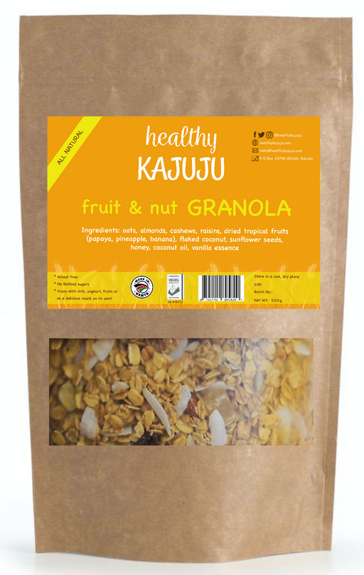 Kajuju Fruit & Nut Granola 500g