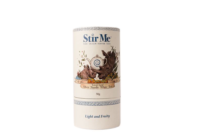 Stir Me Loose Leaf Silver Needle White Tea 50g( Light & Fruity)