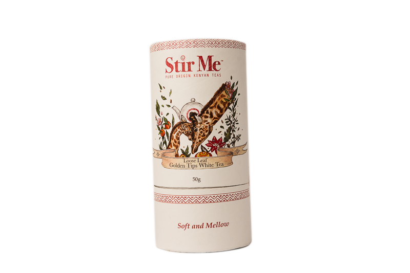 Stir Me Loose Leaf Golden Tips White Tea 50g (Soft & Mellow)
