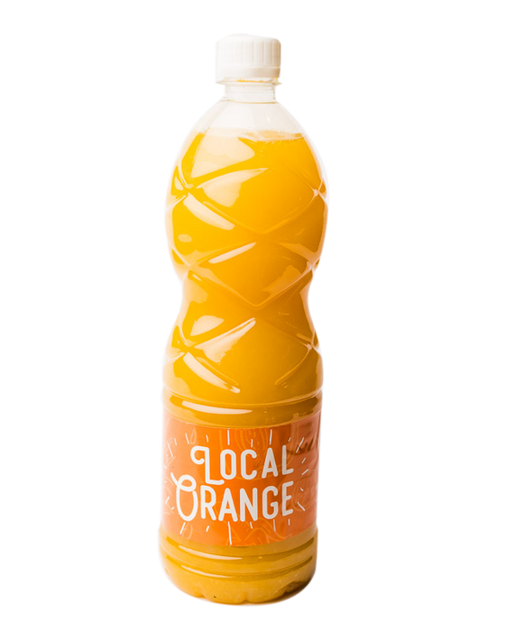 Fresh Local Orange Juice - 1 Ltr