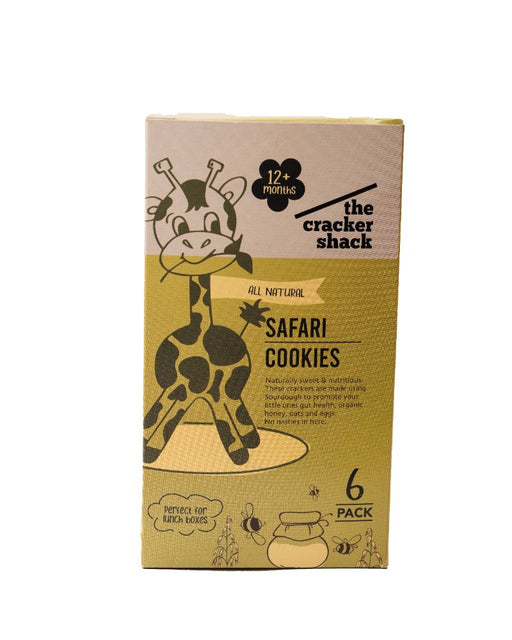 Browns The Cracker Shack (All Natural) Safari Cookies - 6 Pack(12+ months)