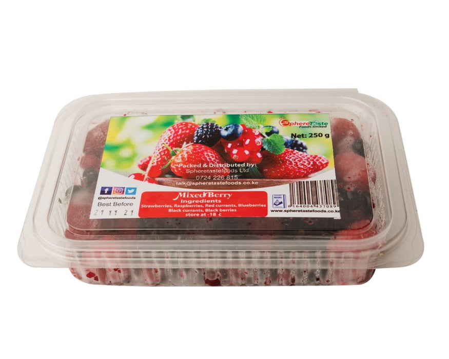 Mixed Forest Berries 250g