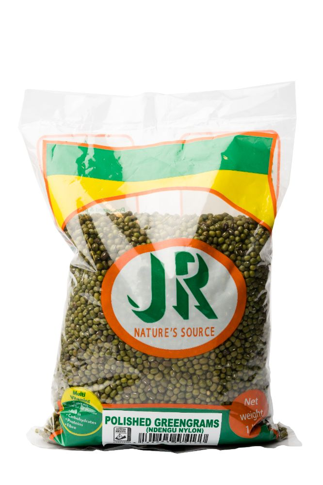 JR Nature's Source Polished GreenGrams (Ndengu Nylon) 1 Kg