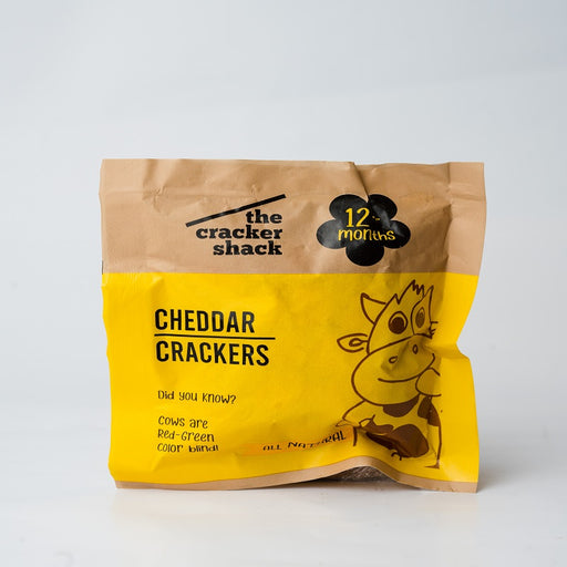 The Cracker Shack (All Natural) Cheddar Crackers - 30g (12+months )