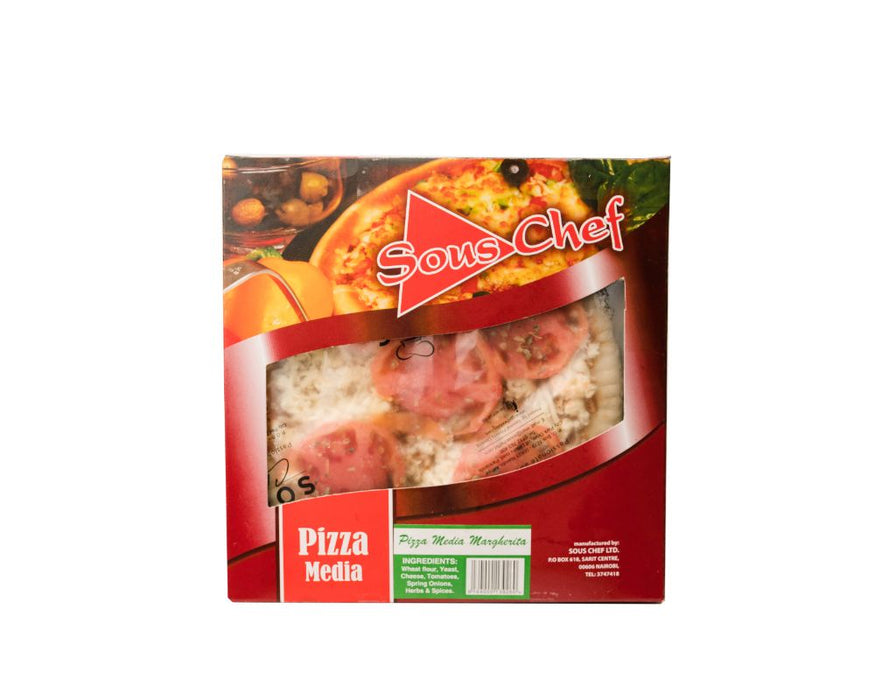Sous Chef Pizza Media Margherita 200g