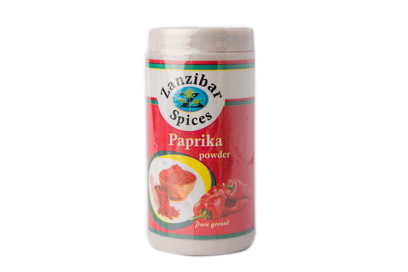 Zanzibar Pure Ground Paprika Powder 100g.