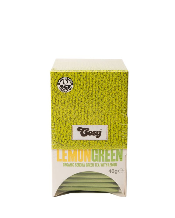 Cosy Green Tea with Lemon 40g