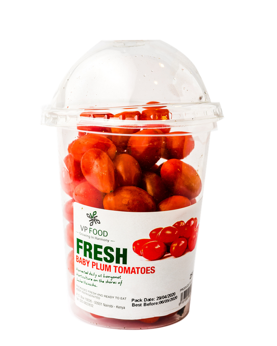 Vp Food Fresh Baby Plum Tomatoes 250g