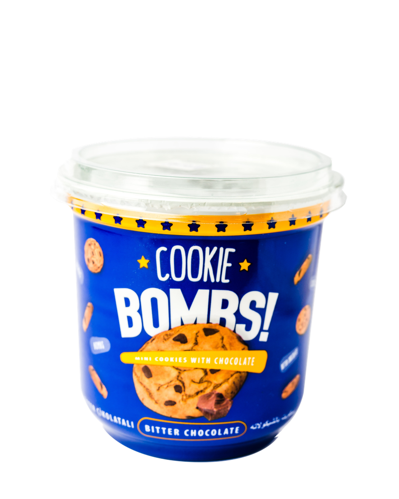 Cookie Bombs ( Mini cookies with chocolate) 80g