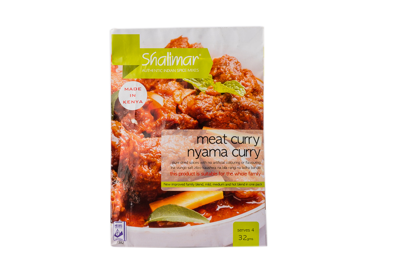 Shalimar Meat Curry Spice (Nyama Curry) 32g