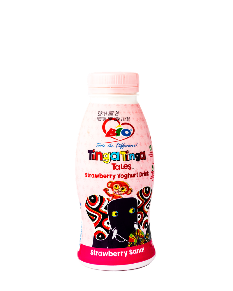 Bio Tinga Tinga Strawberry Yoghurt 350ml