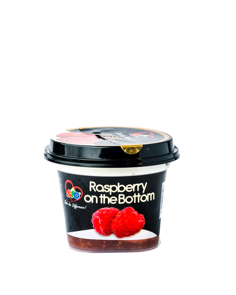 Bio Raspberry on the Bottom Yoghurt 200ml