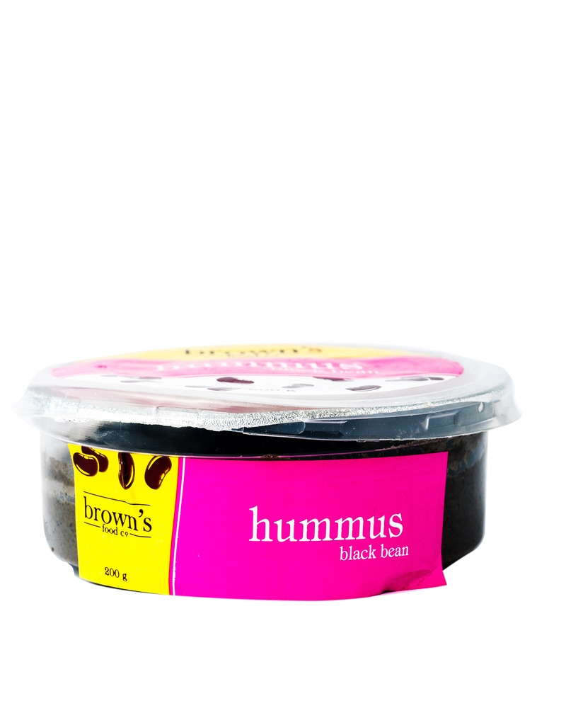 Browns Hummus - Black Bean 200g