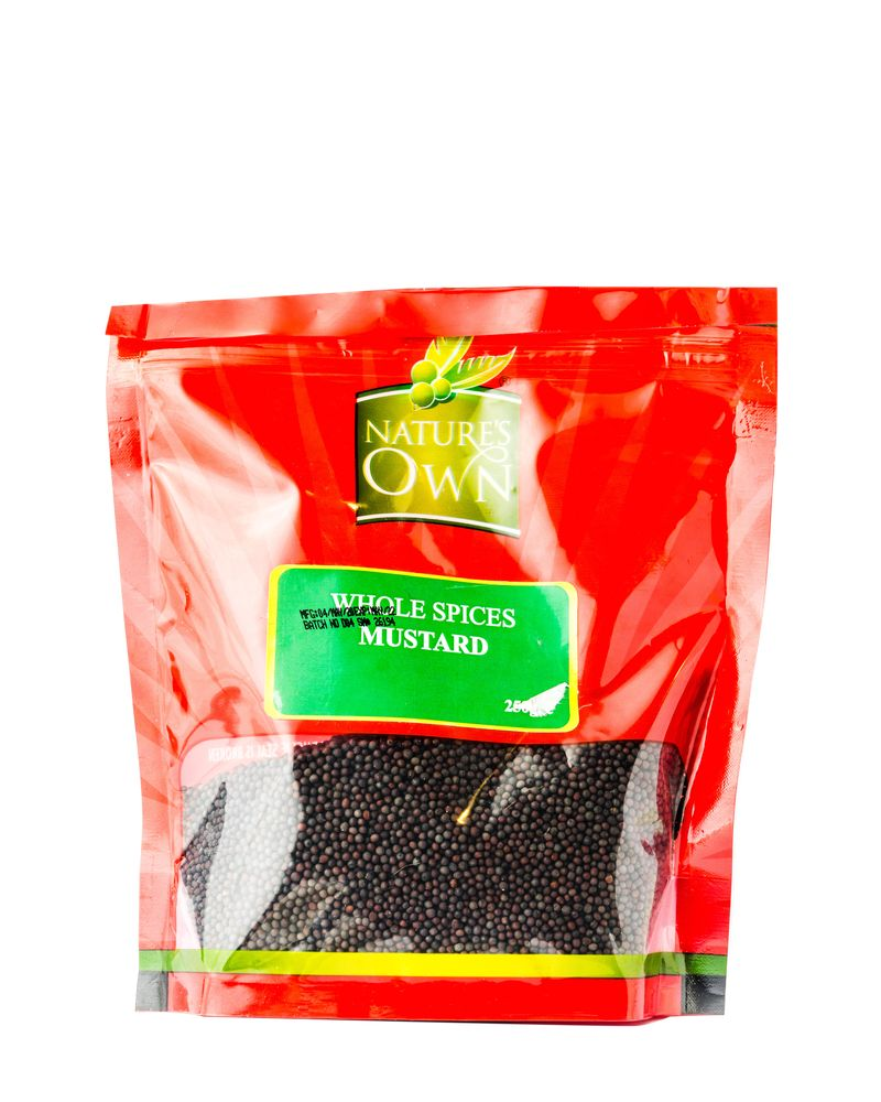 Nature's Own Whole Spices Mustard 250g