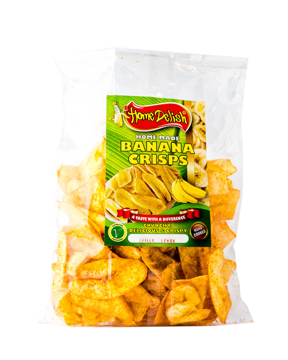 Home Delish - Banana Crisps 400g