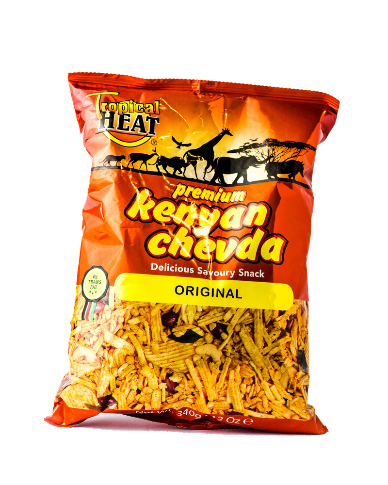 Tropical Heat Kenyan Chevda- Original 340g