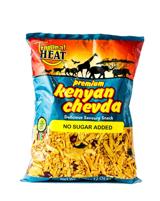 Tropical Heat Kenyan Chevda - No Sugar Added 340g