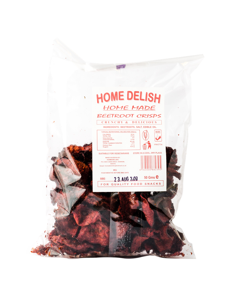 Home Delish Beet Root Crisps