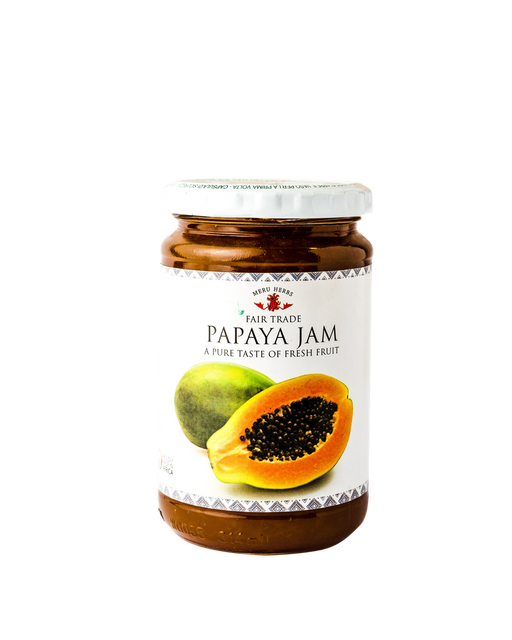 Meru Herbs Fair Trade Papaya Jam 330g