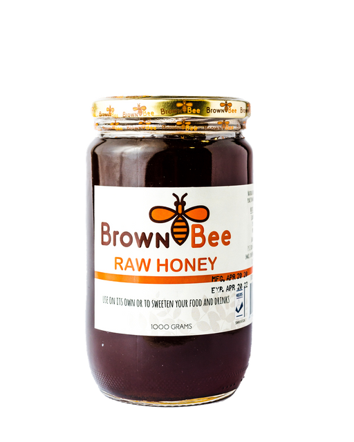 Brown Bee Raw Honey