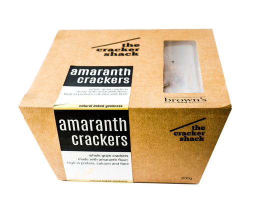 Browns Amaranth Crackers 200g