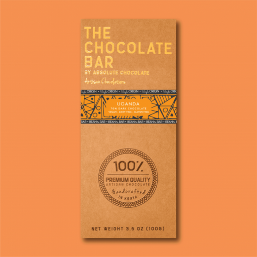 Absolute Single Origin Uganda – 70% Dark Chocolate 100g