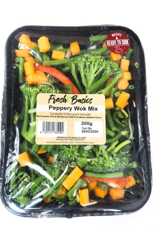 Fresh Basics -Peppery Wok Mix