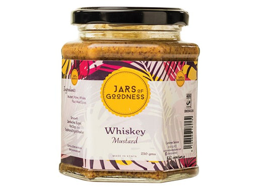 Jars of Goodness - Whiskey Mustard 250g