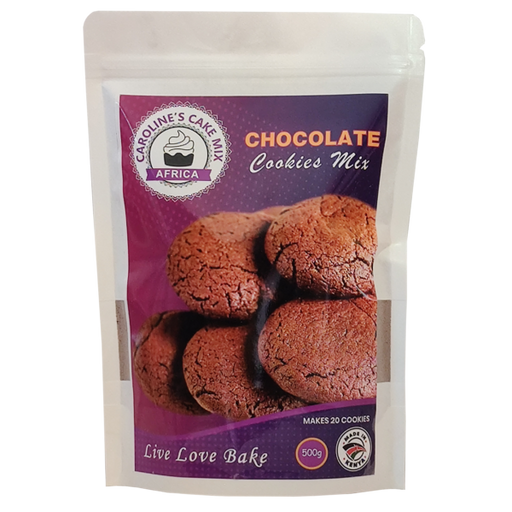 Caroline's Chocolate Gluten Free Cookies Mix  500g