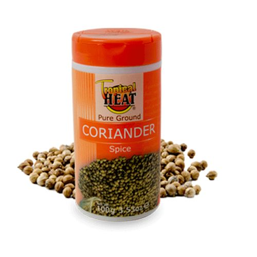 Tropical Heat Pure Ground Corriander Spice 100g.