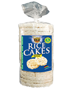 Tropical Heat Rice Cakes - Salted 100g