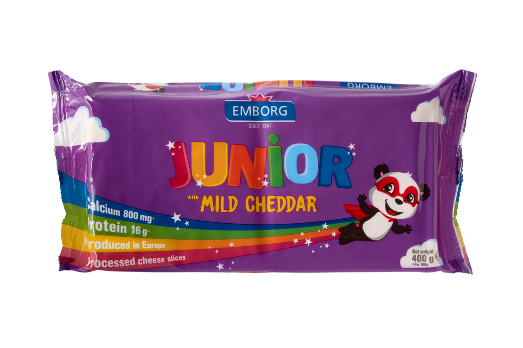Emborg Sandwich Junior Cheddar 400g