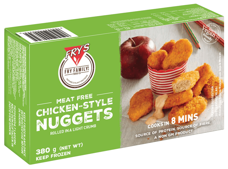 Fry's Meat Free Chicken Style Nuggets 380g