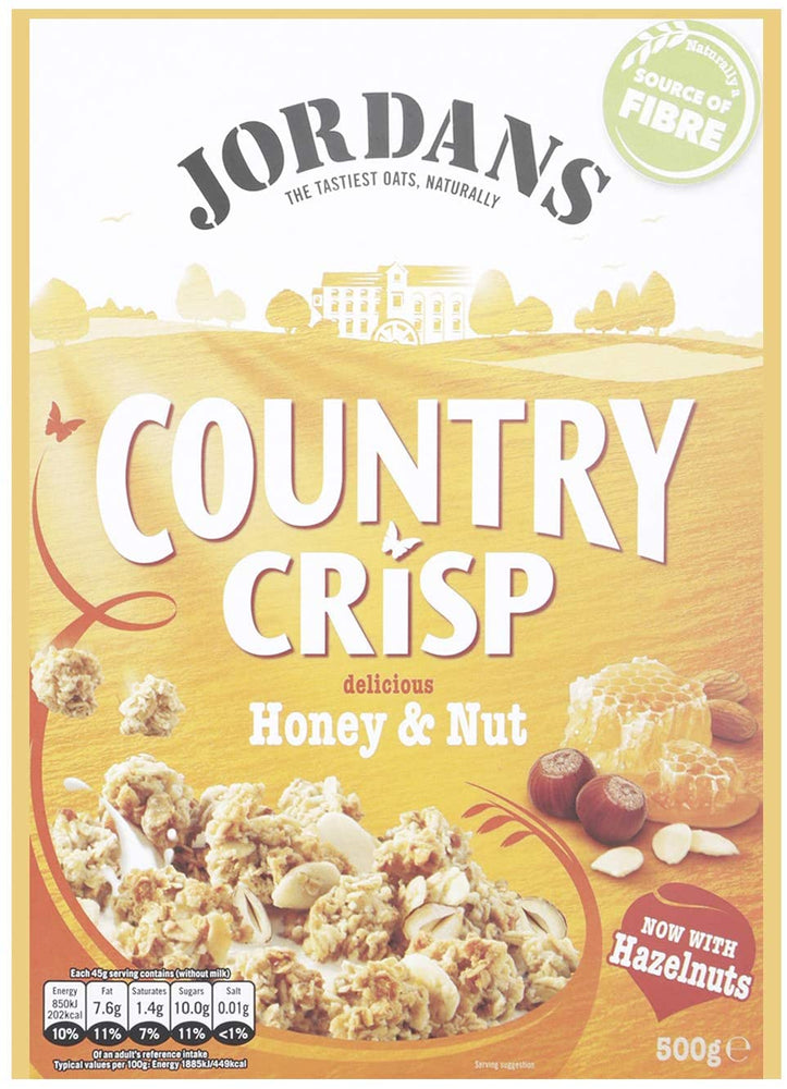 Jordans Country Crisp Honey and Nut 500 g