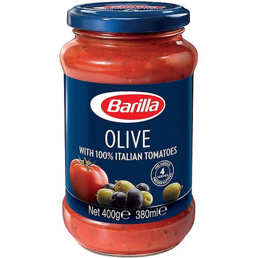 Barilla Olive with 100% Italian Tomatoes Pasta Sauce  400g