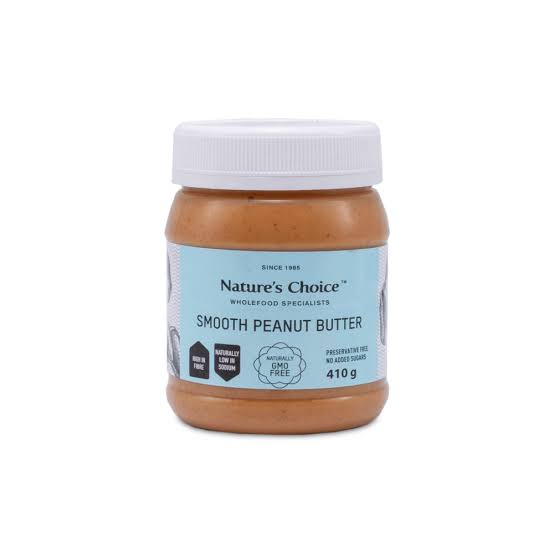 Nature's Choice Smooth Peanut Butter 410g.